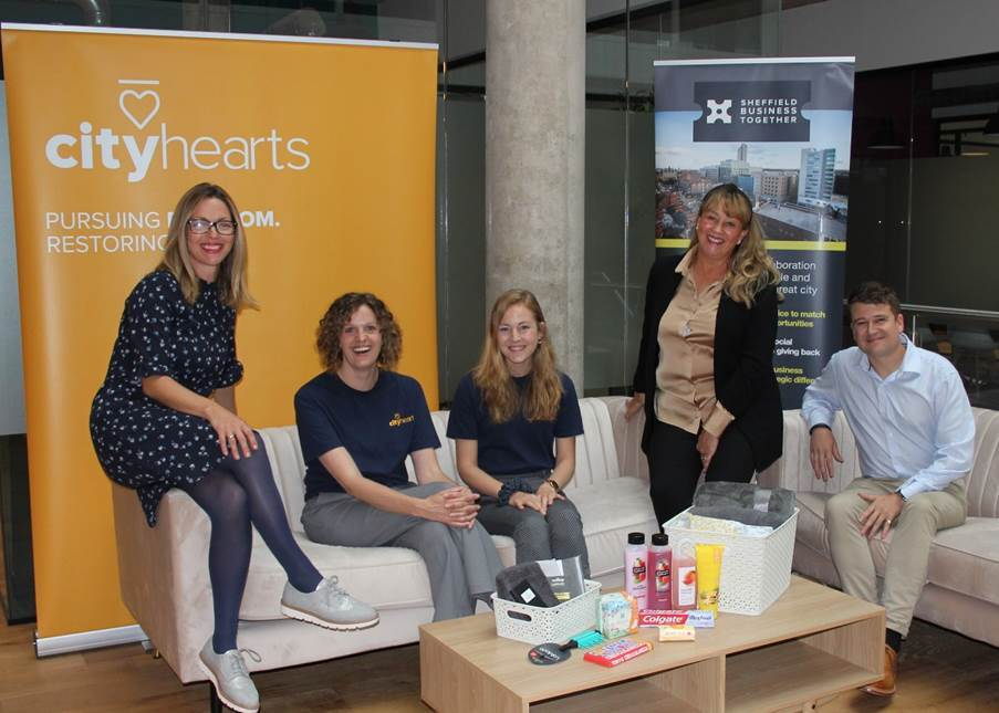 """Featured image for """"Sheffield Businesses Together support City Hearts to create first Restoration Hub for human trafficking survivors"""""""